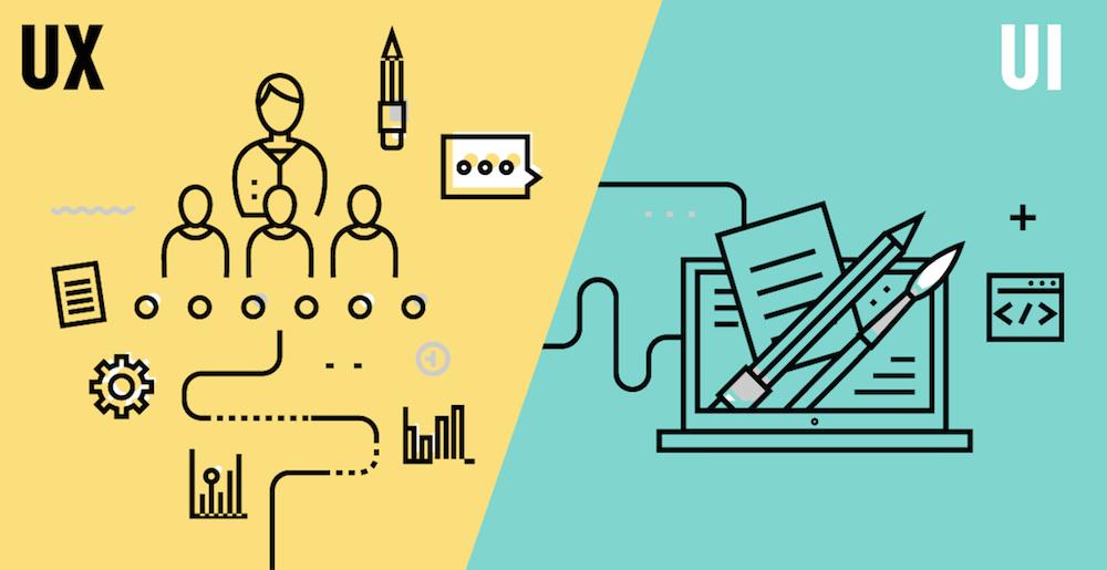 Las diferencias entre el UX y el UI