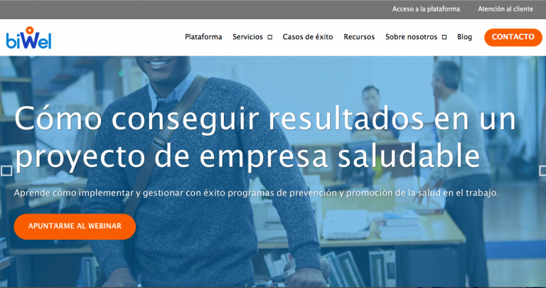 diseño web para la empresa BIWEL