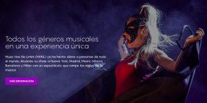 Diseño Web MusicHasNoLimits agencia vayawebs barcelona