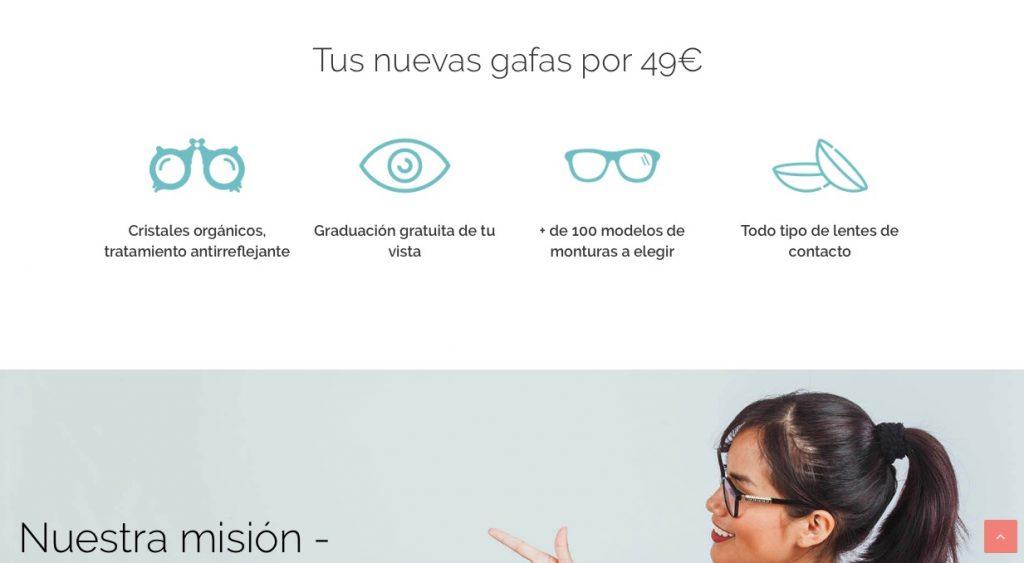 Diseño web para MUTUA VISIÓ