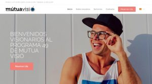 Diseño web para MUTUA VISIÓ agencia vayawebs barcelona