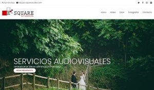 Nueva Web para E-Square Studios por la agencia VayaWebs Barcelona diseño web