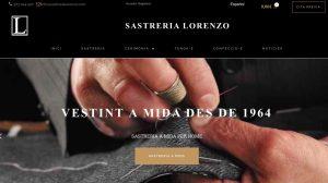 Diseño de Tienda Online para Sastrería Lorenzo